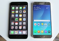 Samsung Galaxy Note 5 vs iPhone 6 Plus comparison: huge competition