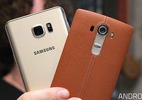 Galaxy Note 5 vs. LG G4: diferentes em números, semelhantes na prática!