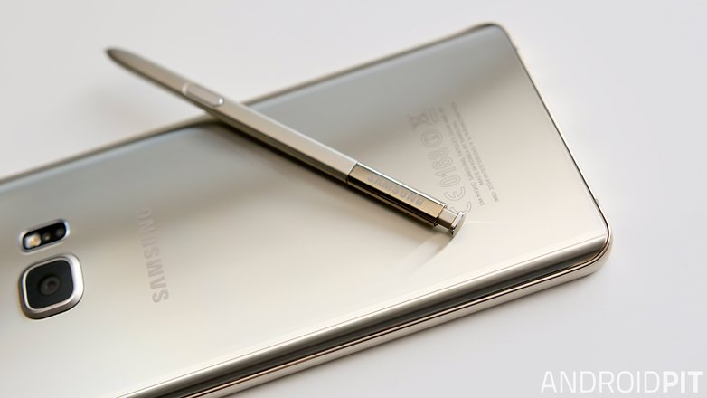 samsung galaxy note 5 s pen back