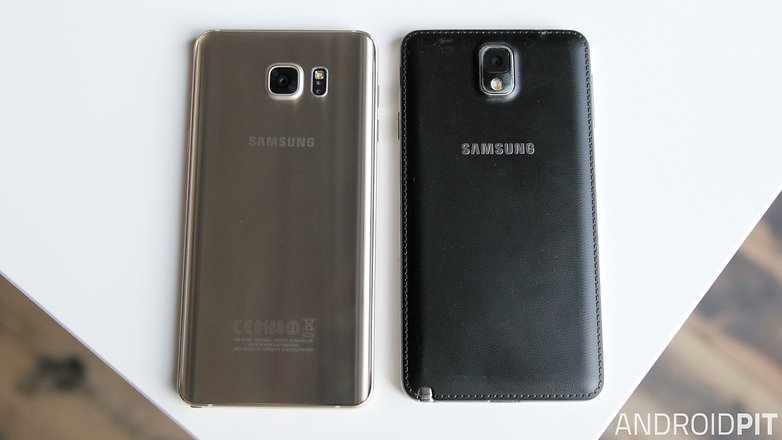 samsung galaxy note 5 vs galaxy note 3 back 1