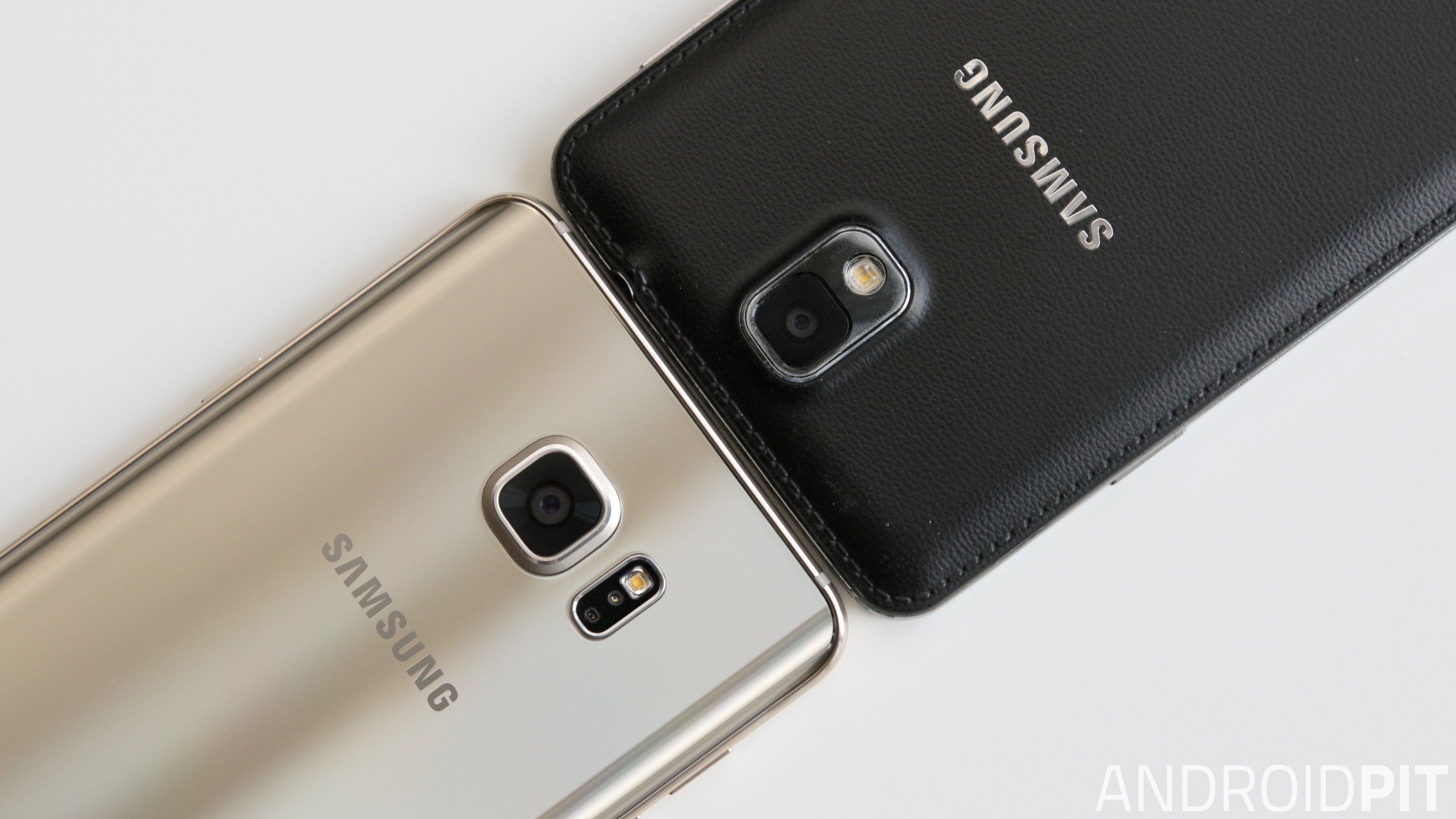 test comparatif galaxy note 3 vs note 5 androidpit. Black Bedroom Furniture Sets. Home Design Ideas
