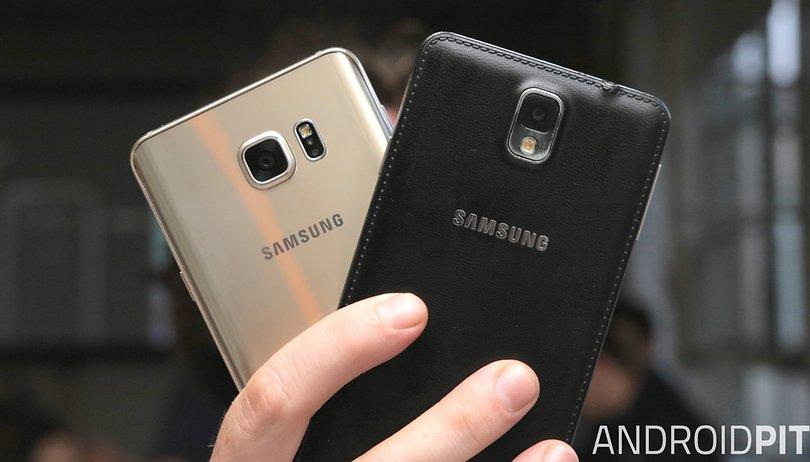 Galaxy Note 5 vs. Galaxy Note 3: Die Generationen im Blick
