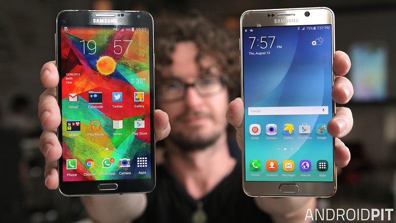 samsung galaxy note 5 vs galaxy note 3 front 1