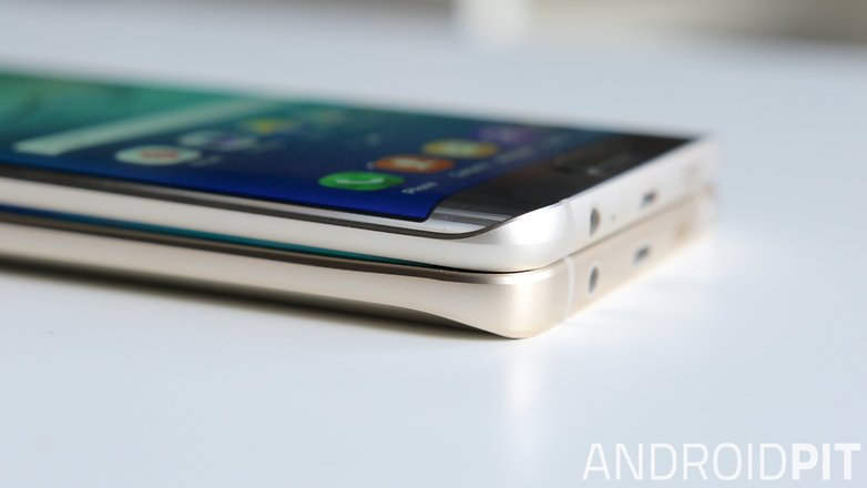samsung galaxy note 5 vs galaxy s6 edge plus corner