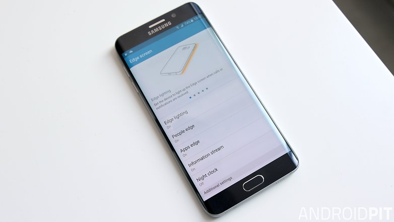 samsung galaxy s6 edge plus edge function