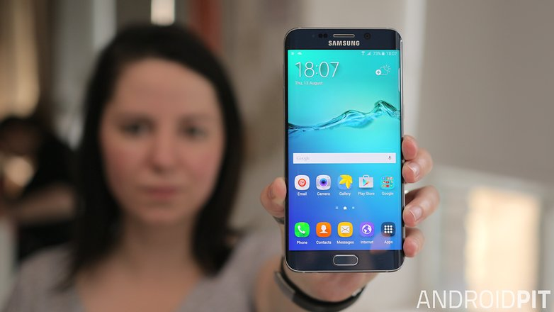 samsung galaxy s6 edge plus front screen