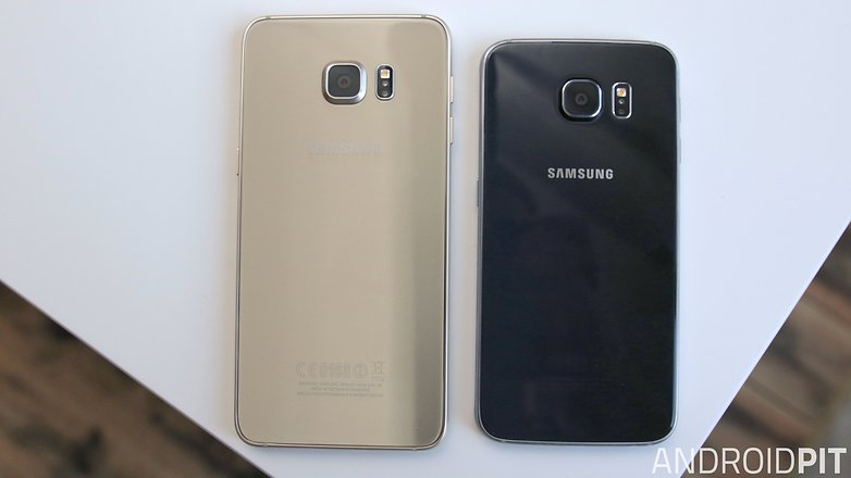samsung galaxy s6 edge plus galaxy s6 back