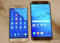 Samsung Galaxy S6 Edge vs S6 Edge+ comparison