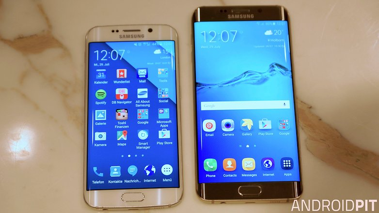 samsung galaxy s6 edge plus vs galaxy s6 edge