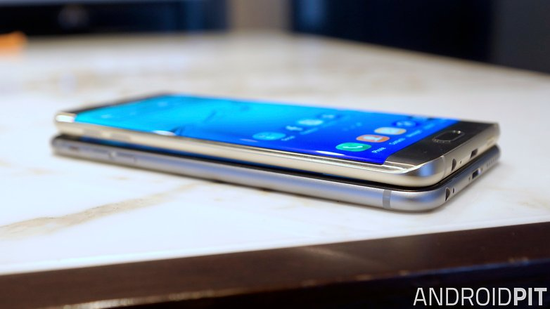 samsung galaxy s6 edge plus vs iphone 6 plus side 2