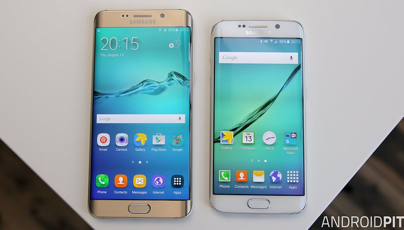 Galaxy S6 Edge Plus vs. Galaxy S6 Edge: diferentes só no tamanho