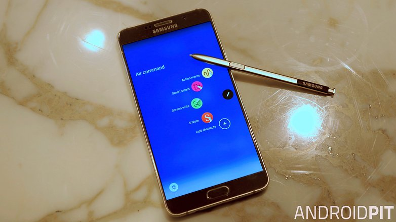 samsung note 5 air command