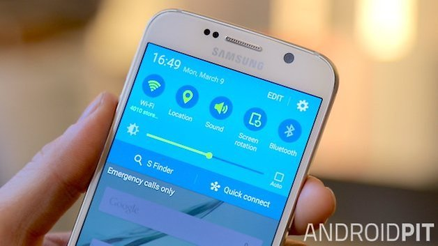 samsung galaxy s6 quick settings