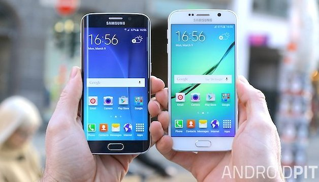 Comparativo: Galaxy S6 vs. Galaxy S6 Edge (Vídeo comparativo)