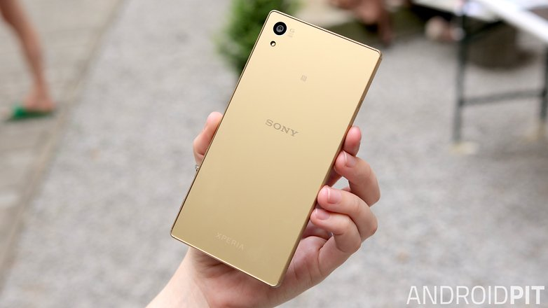 sony xperia z5 back
