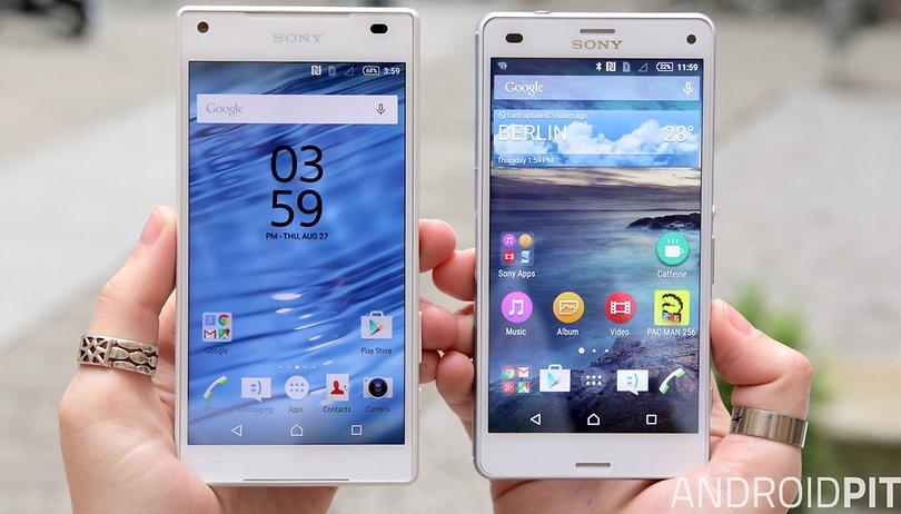 Sony Xperia Z5 Compact vs. Xperia Z3 Compact: Vergleich der teuren Zwerge