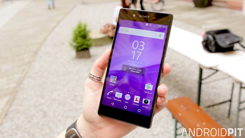sony xperia z5 front display 1