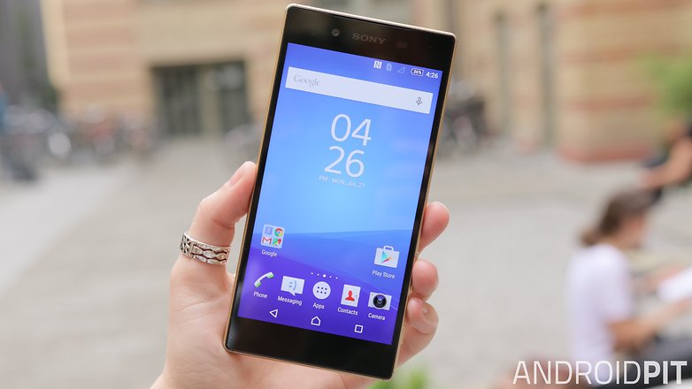 sony xperia z5 front display 2