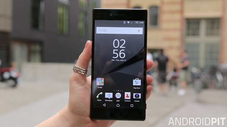sony xperia z5 premium front display
