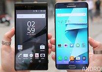 Sony Xperia Z5 Premium vs Samsung Galaxy S6 Edge+: risoluzione in 4K o curve mozzafiato?