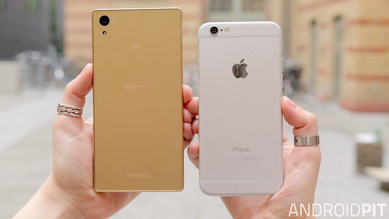 price, iphone 6s vs sony xperia z5 premium mind that
