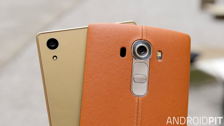 sony xperia z5 vs lg g4 camera