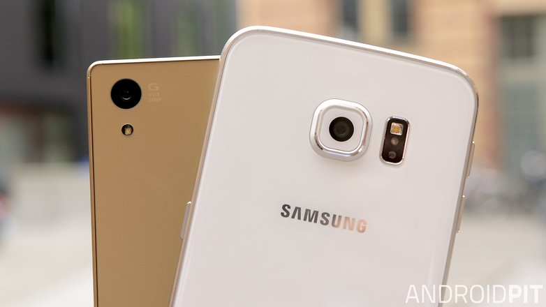 sony xperia z5 vs samsung galaxy s6 edge camera