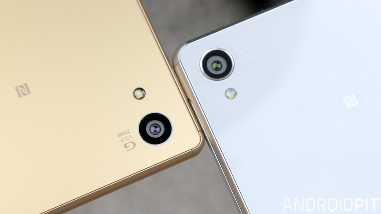 sony xperia z5 vs sony xperia z3 camera