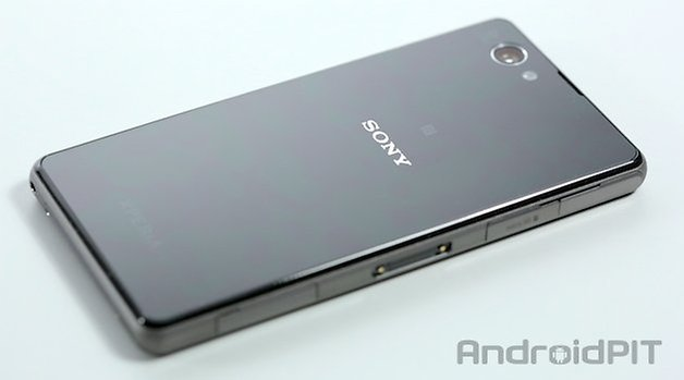 sony z1 compact back