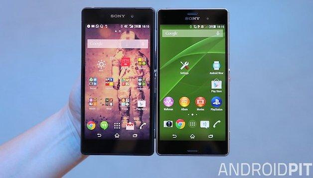 Sony Xperia Z3 und Xperia Z2 im Vergleich: Lohnt der Klon?