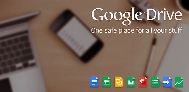 GoogleDrive HomeScreen
