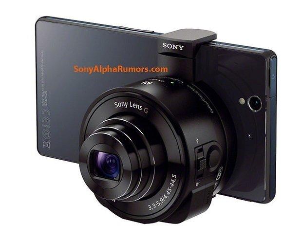 SonyQX10 with XperiaZ