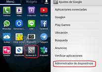 Cómo activar el modo antirrobo en tu Android