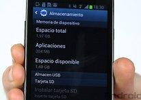 Aumenta la memoria de tu Galaxy S2 con reparticiones
