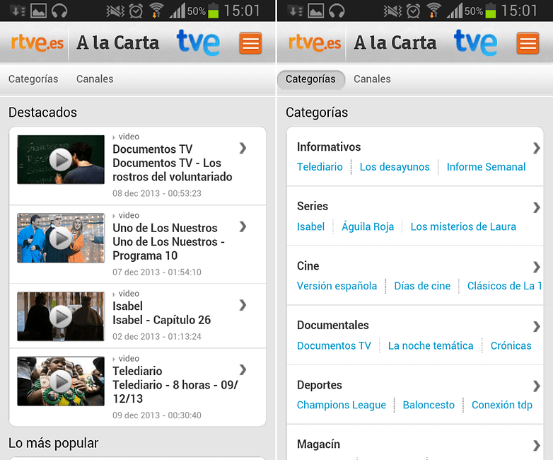 TVE Carta