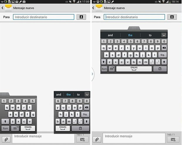 teclado galaxynote8
