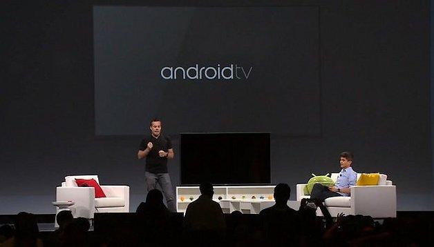 Google presenta Android TV