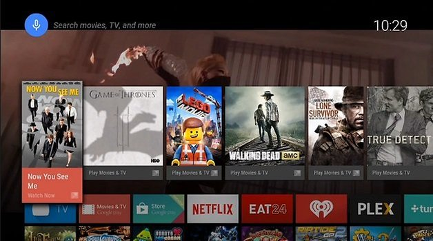 AndroidTV REcomendations