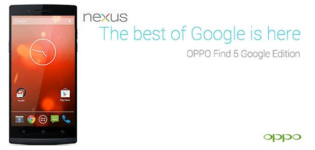 OppoFind5 GoogleEdition