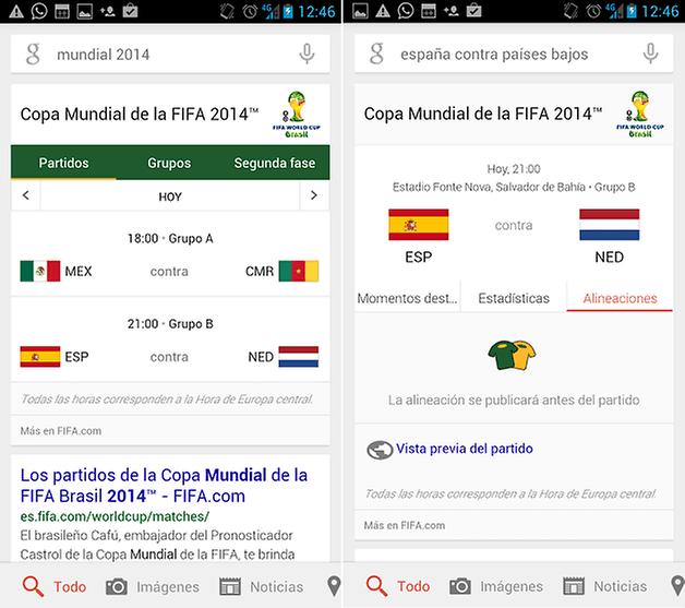 GoogleNowMundialvTarjetas