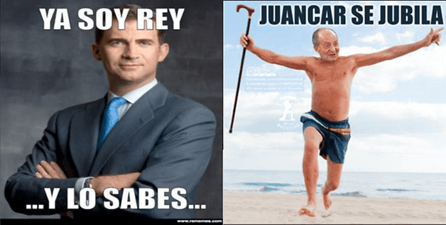 ReyAbdicaChistes