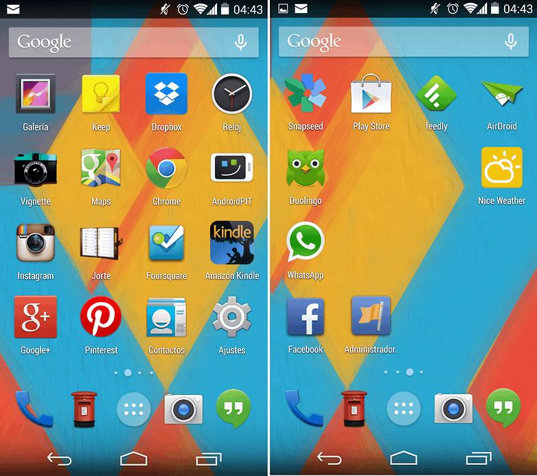 GoogleNexus5 Launcher