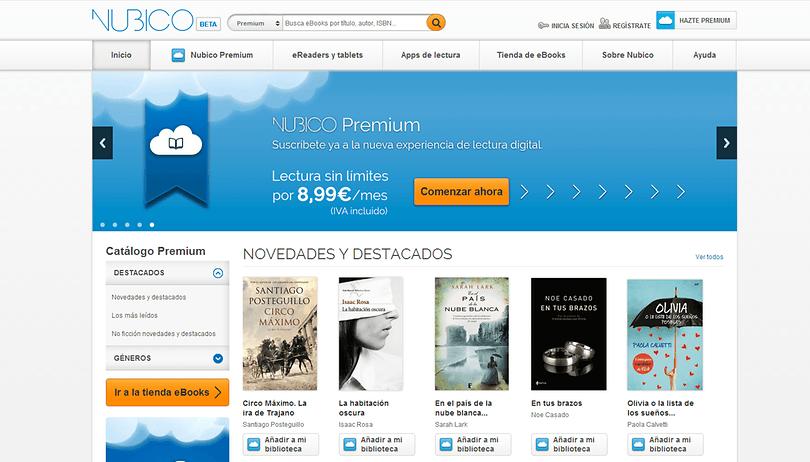 Nubico para Android - El Spotify de los libros