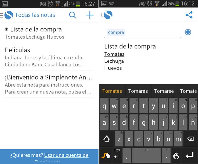 SimplenoteCrearNota