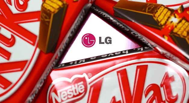 LG KitKat