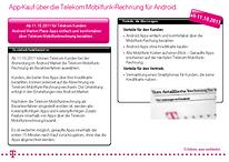 [Update] Ab sofort direkt über die Handyrechnung von T-Mobile Android Apps bezahlen