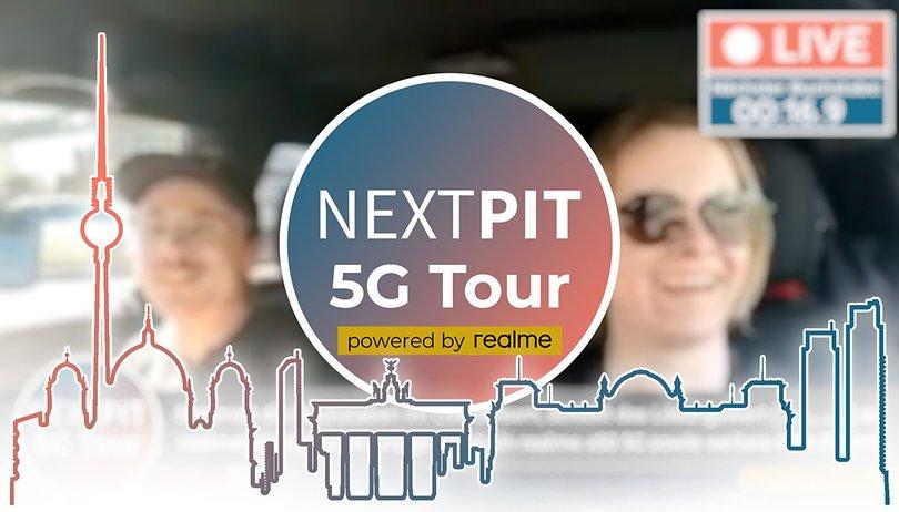 ENDSPURT ~~> NextPit 5G Tour: Kommentiert und gewinnt tolle Preise von realme