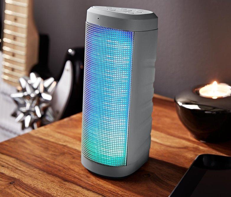 bluetooth lautsprecher mit lichteffekten