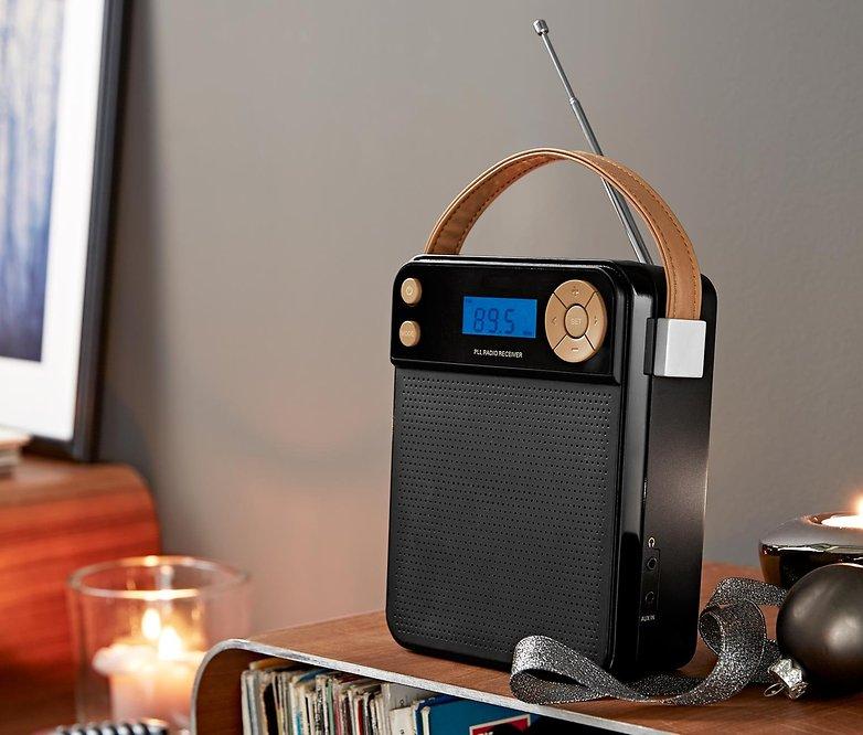kompaktradio schwarz