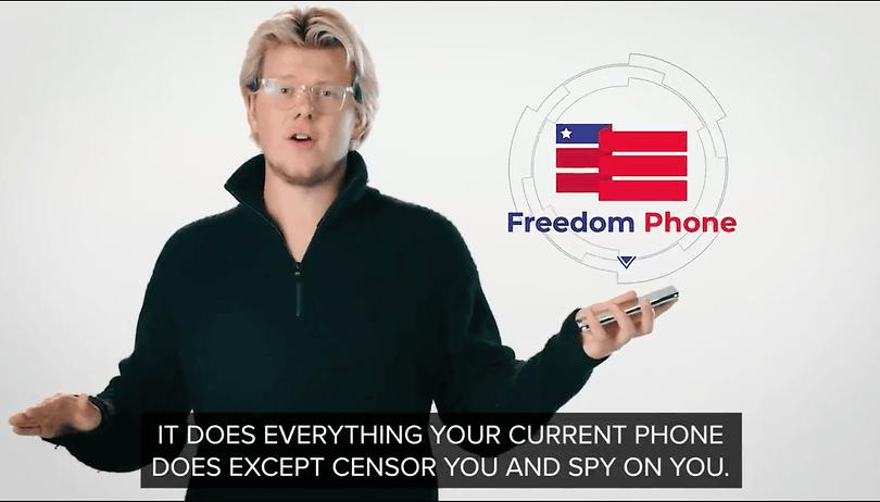 "Freedom Phone: Im Kampf gegen ""Big Tech"" richtig dumm abgezockt"